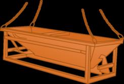 Lager-, Transportbehälter u. Kübel mieten
